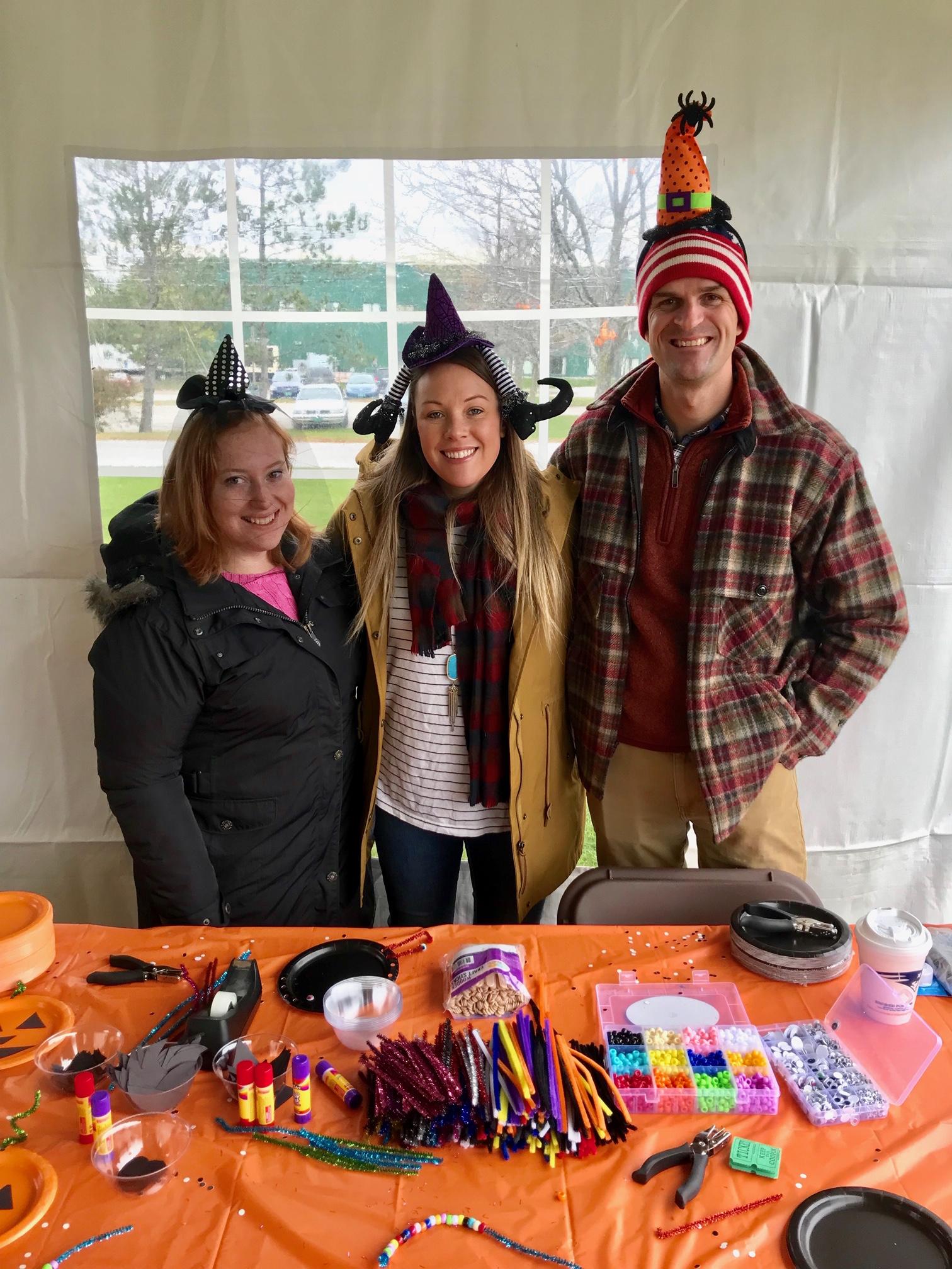 Hannah, Jordan Lafayette & Art Wright