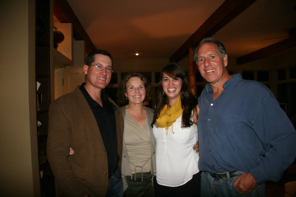 Here I am pictured next to Harriet Lewis, Lisa Donohue and Alan Lewis at a party hosted by the Lewis's.