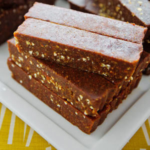 Superfudge: Goji 'Caramel' with Mesquite & Chia