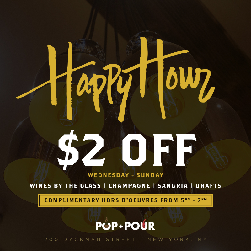Happy Hour Advertisement