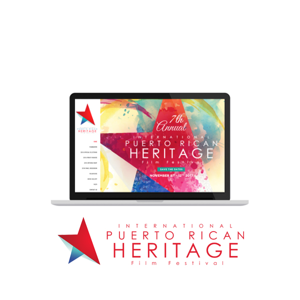 Int'l PR Heritage Film Festival - Website, Ad Design, Booklet, Banners, Event Collateral