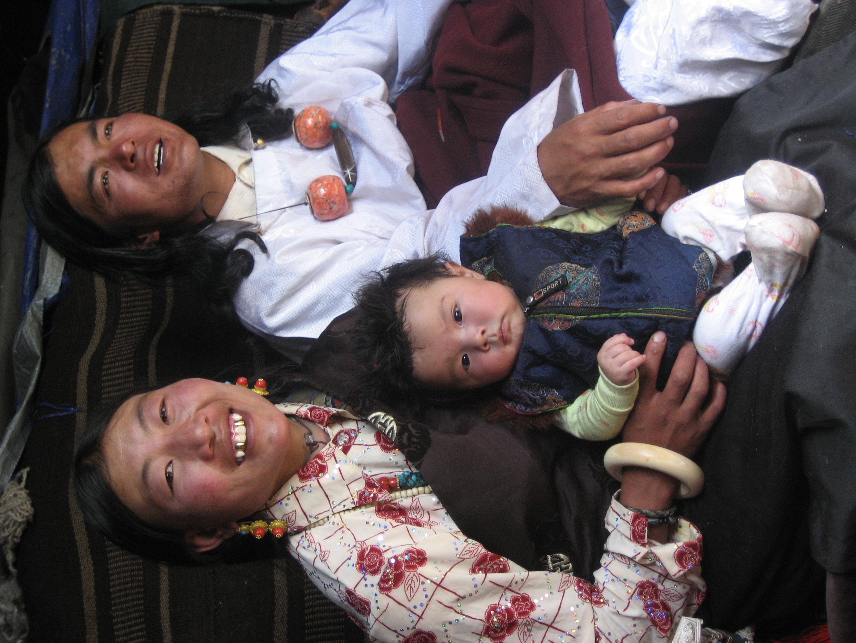 Yama, Locho and baby Jiatomah