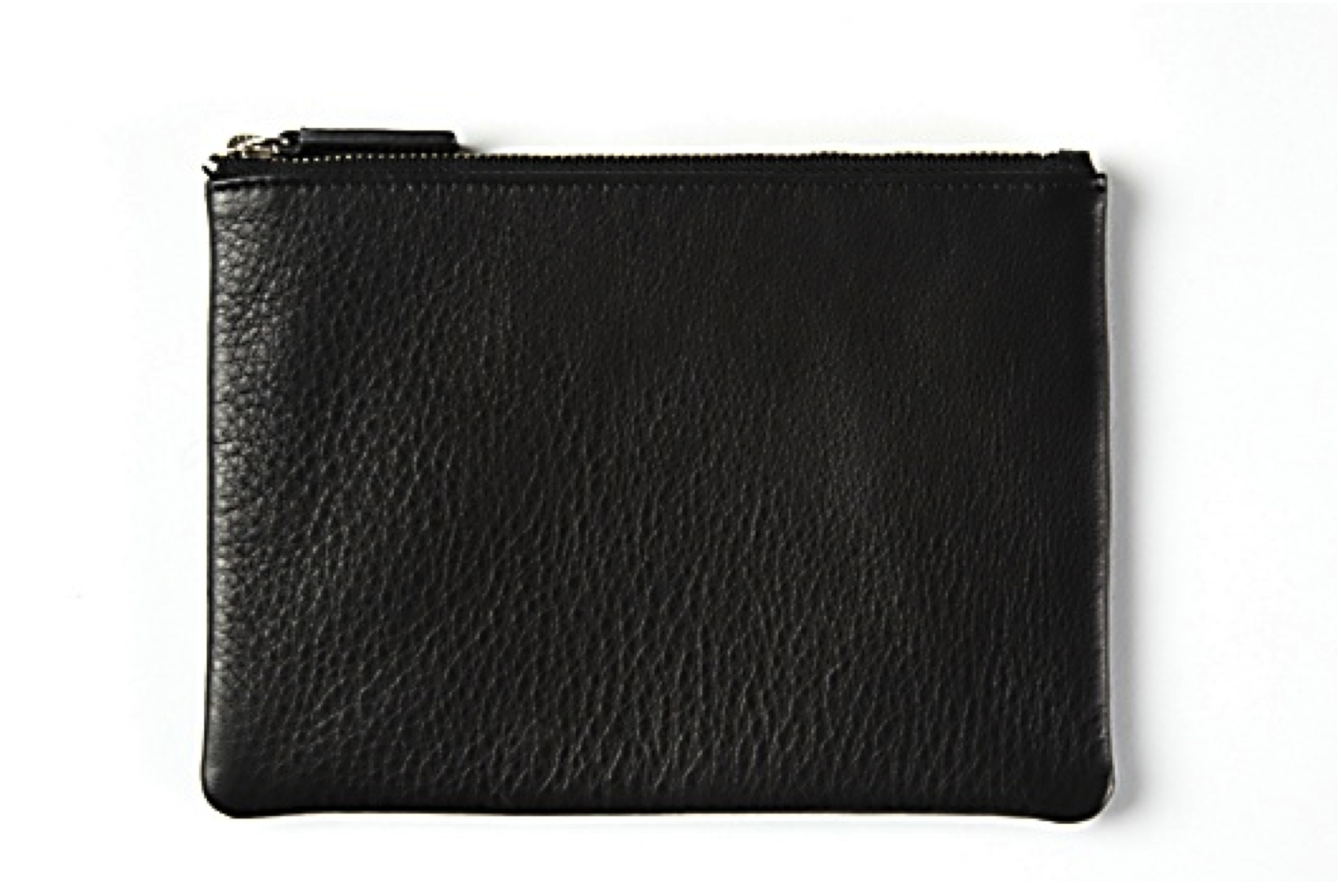 Leatherology Black Small Pouch