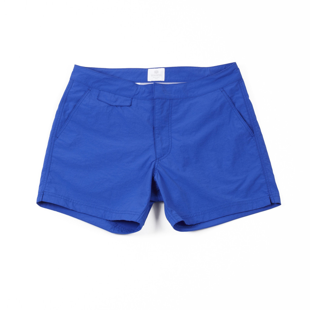 Sunspel Swim Short - Cobalt