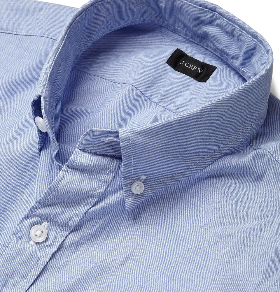 J.Crew Button Down Collar Chambray Shirt