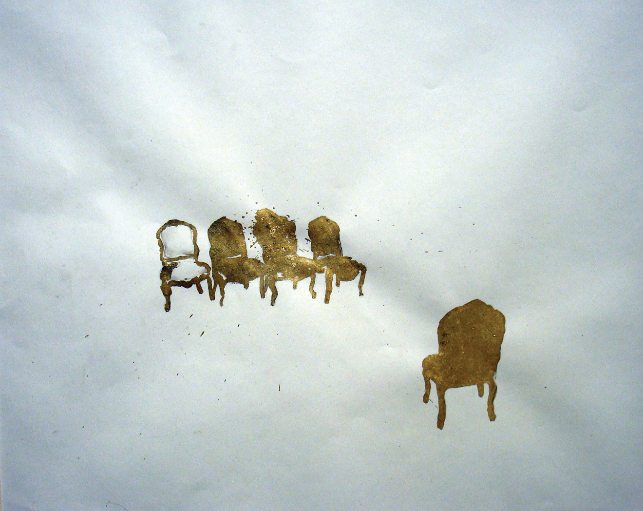 Gold Chairs -