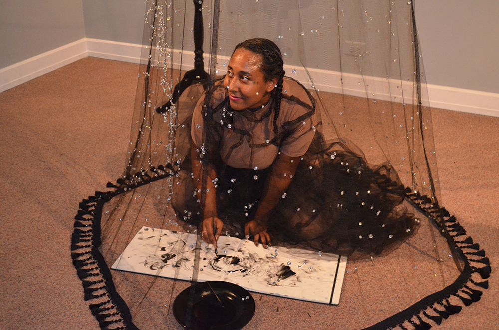 #BlackGirlMagic While Contemplating the Universe - Agnes Scott College, Atlanta, GA. 2016.