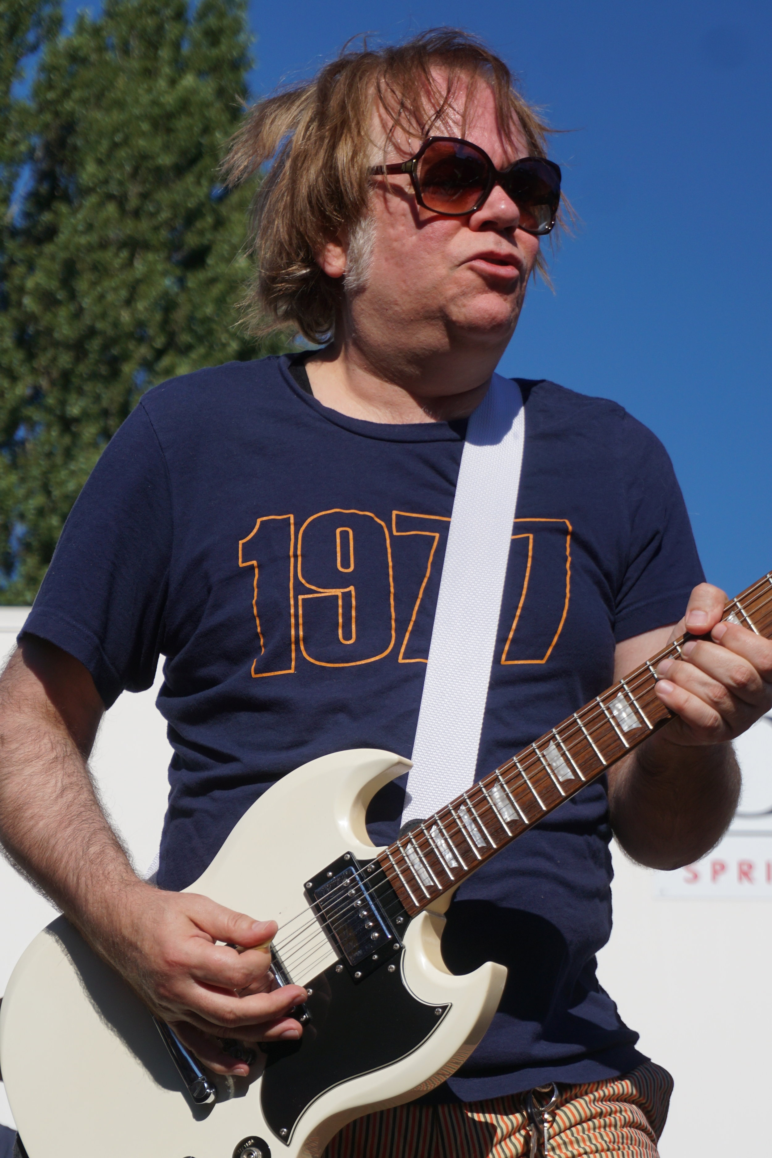 Kurt Bloch rocking it!