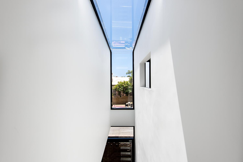 Triangle House by Robeson Architects - Custom Skylight Window