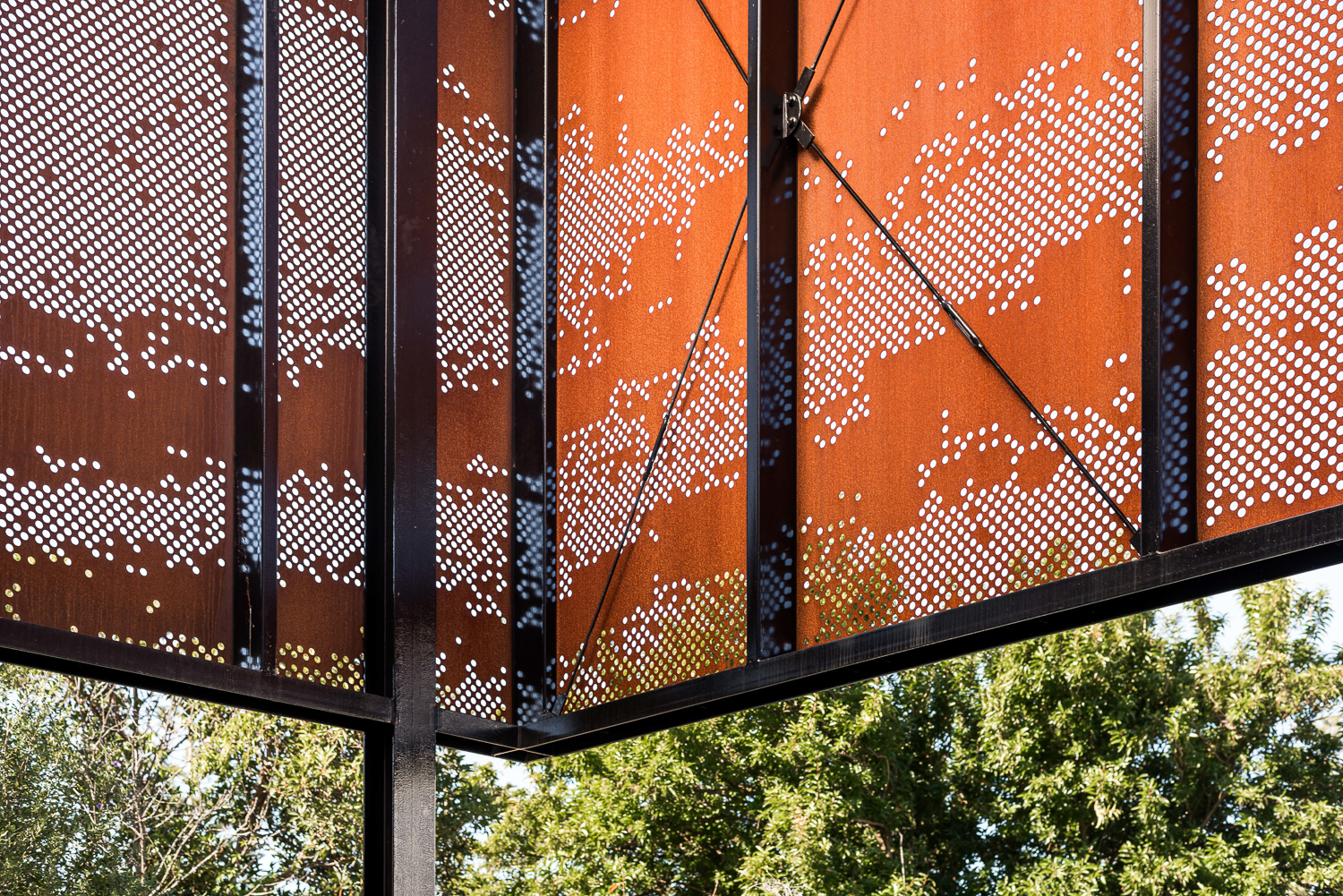 Cottesloe House by Robeson Architects - Custom Corten Steel Facade
