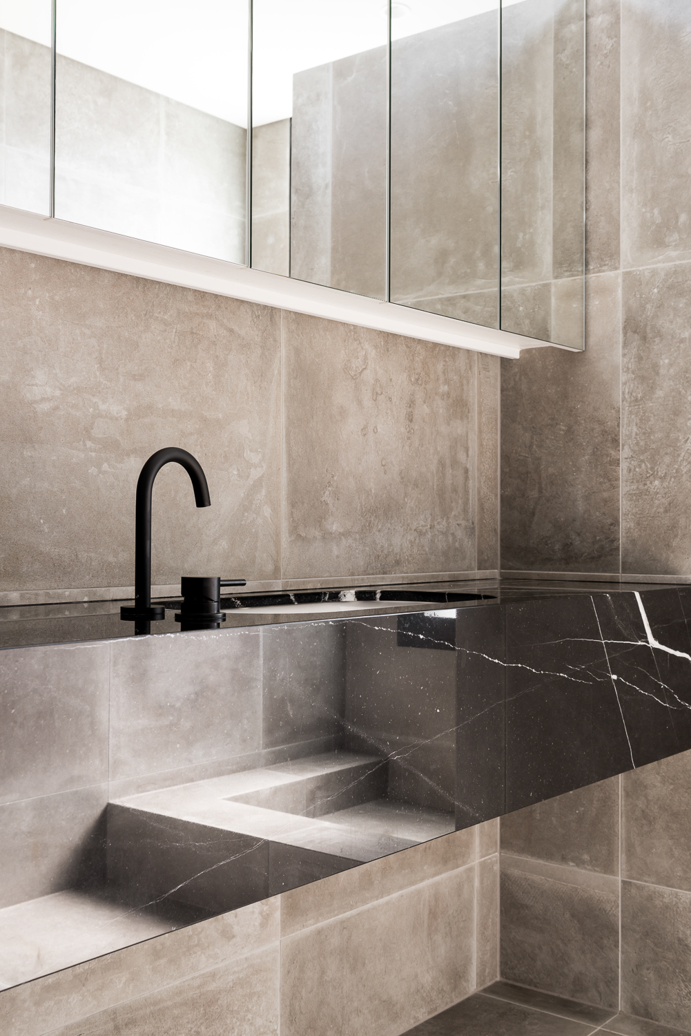 King George by Robeson Architects - Bathroom Vanity