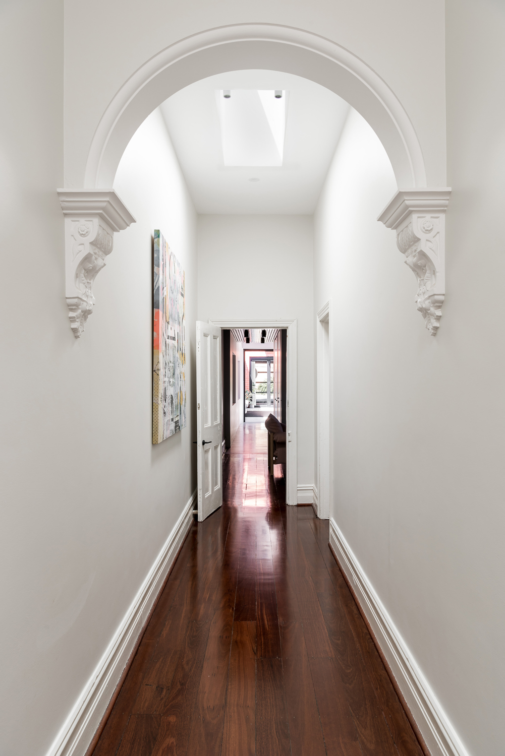 King George by Robeson Architects - New Addition Skylights