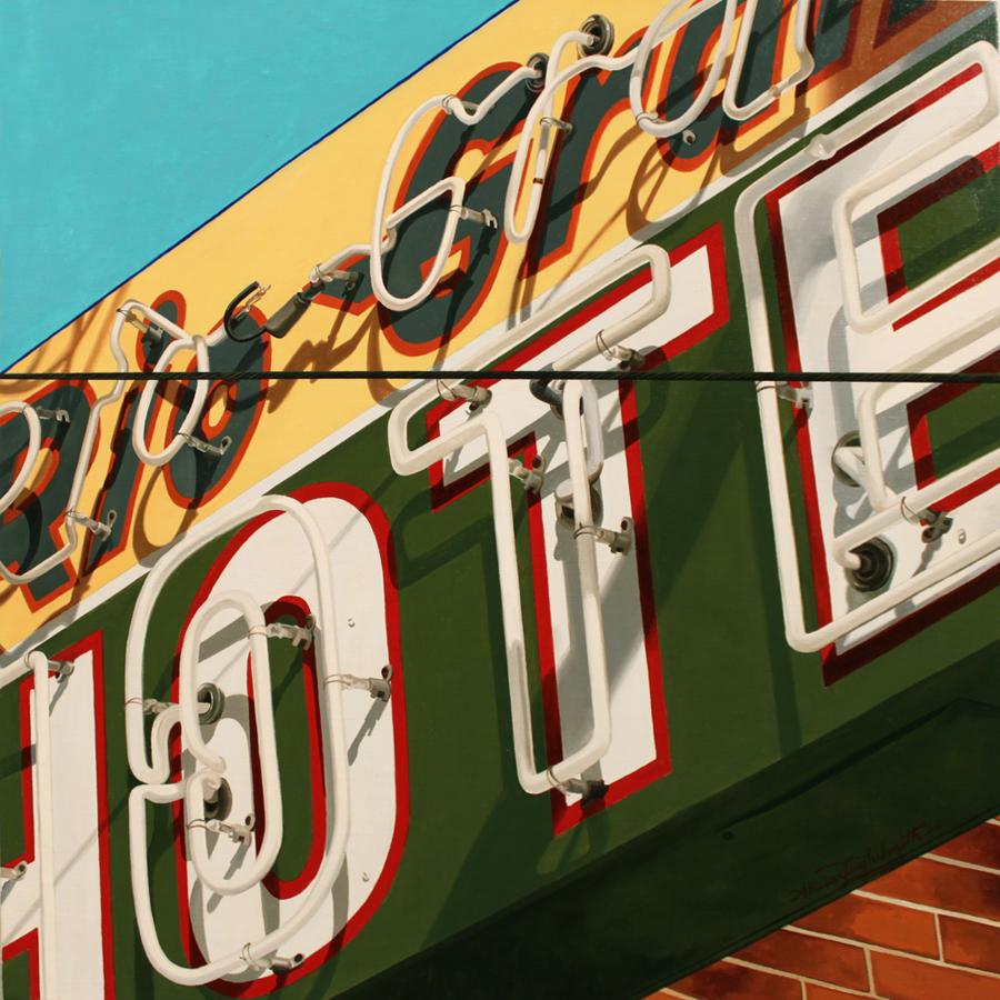 RIO GRAND HOTEL | OIL ON LINEN | 20X20