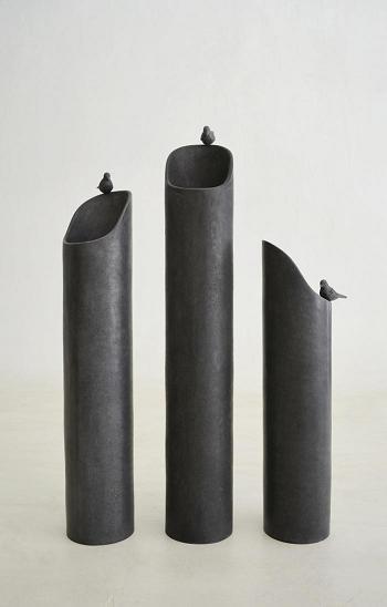 Co-Creative Studio Birdbath Greyl Stone All-Weather Planters.JPG