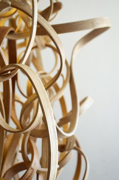 Co-Creative Studio Kinks and Curls Bent Split Natural Rattan Hanging Lamp Detail.JPG
