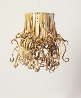 Co-Creative Studio Kinks and Curls Bent Split Natural Rattan Short Hanging Lamp.JPG