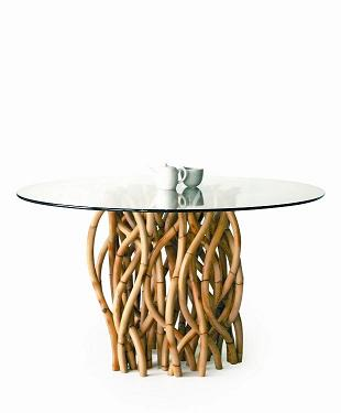 Co-Creative Studio, Detalia Aurora Gaia Natural Rattan Dining Table.jpg