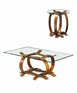 Co-Creative Studio, Detalia Aurora Walnut Veneer Center Table, End Table.jpg