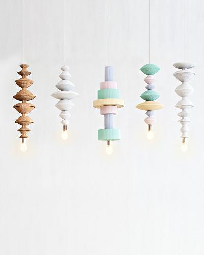 Co-Creative Studio Antoinette Kraft Paper Beads Pendant Hanging Lamp.jpg