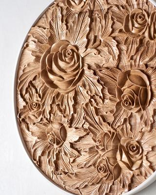 Co-Creative Studio Rosa Mahogany Wood Home Accessories Decor Wall Art Detail Medium.jpg