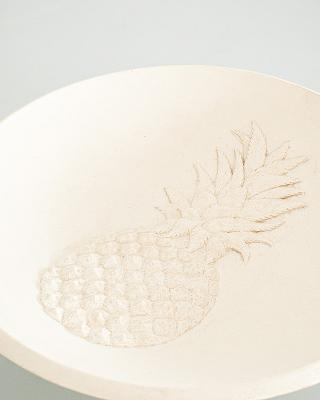 Co-Creative Studio Pina Large Platter Natural Stonecast Detail.jpg