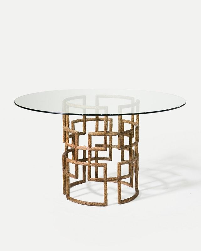 Co-Creative Studio, Detalia Aurora, Silas Tables, Gold Turnsole Lamination.jpg