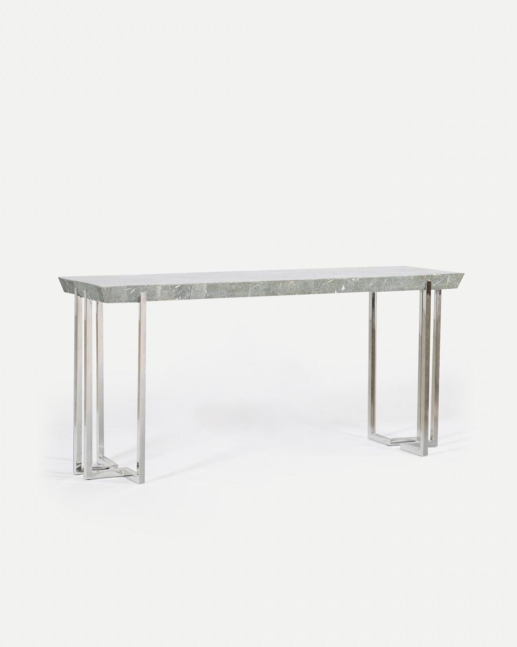 Co-Creative Studio, Detalia Aurora, Ercole Tables, Gray Stone Lamination, Stainless Steel.jpg