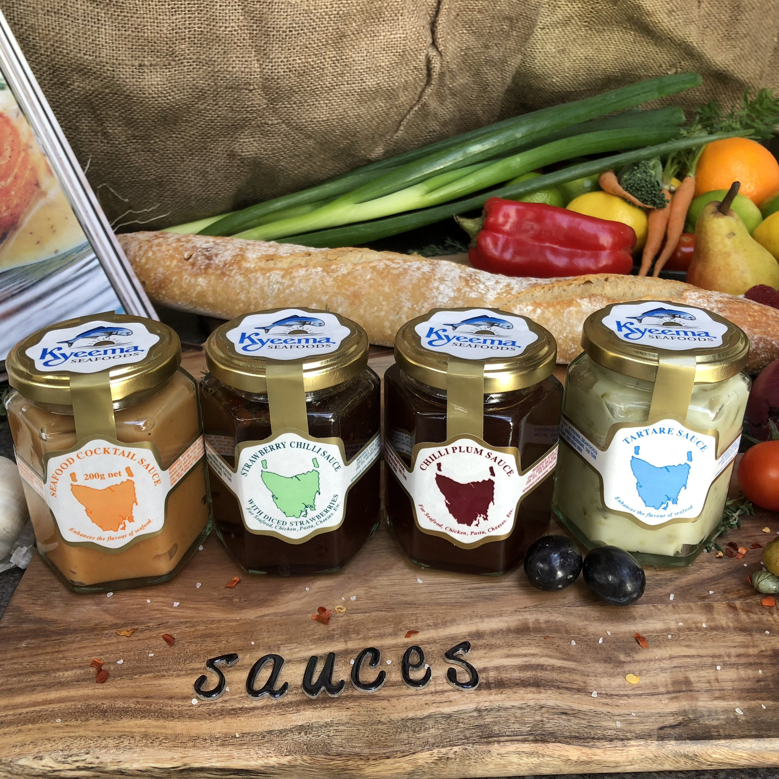 Sauces and Jams