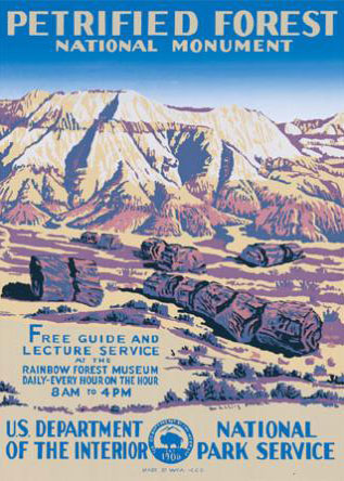 WPA Grand Canyon National Park Poster Reproduction. Prints available at   Ranger Doug