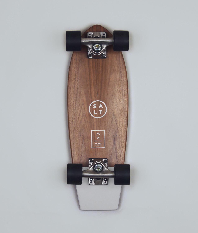 Salt Skateboard - Pigeon Grey