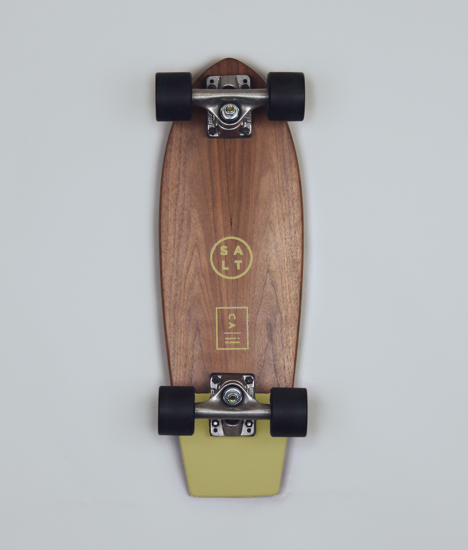 Salt Skateboard - Mustard