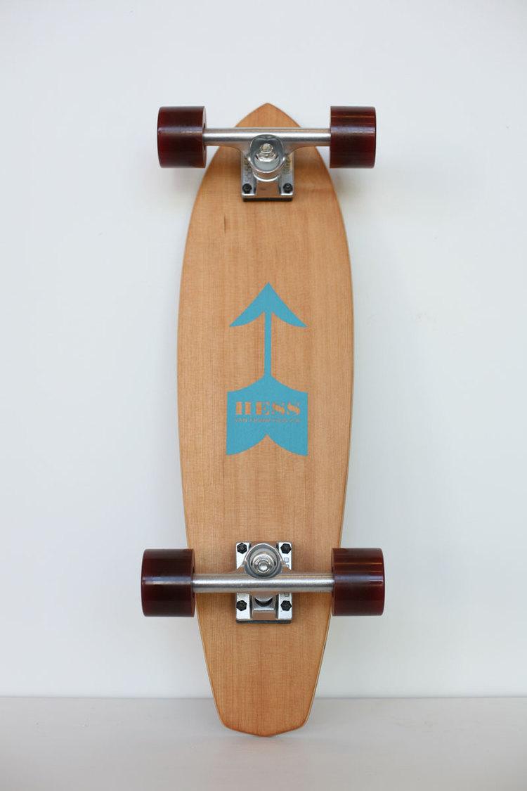 Hess Skateboard - Mustache - $265.00