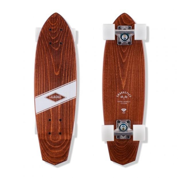 Almond x Shakastics Skateboard