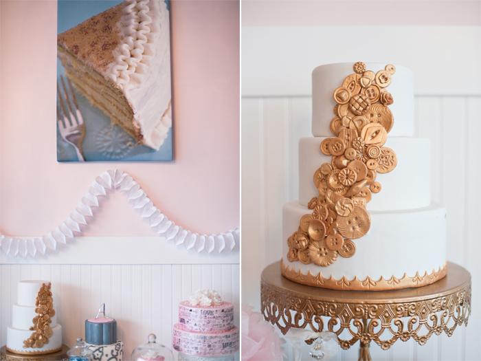 Sweet Love Bakes Wedding Cake