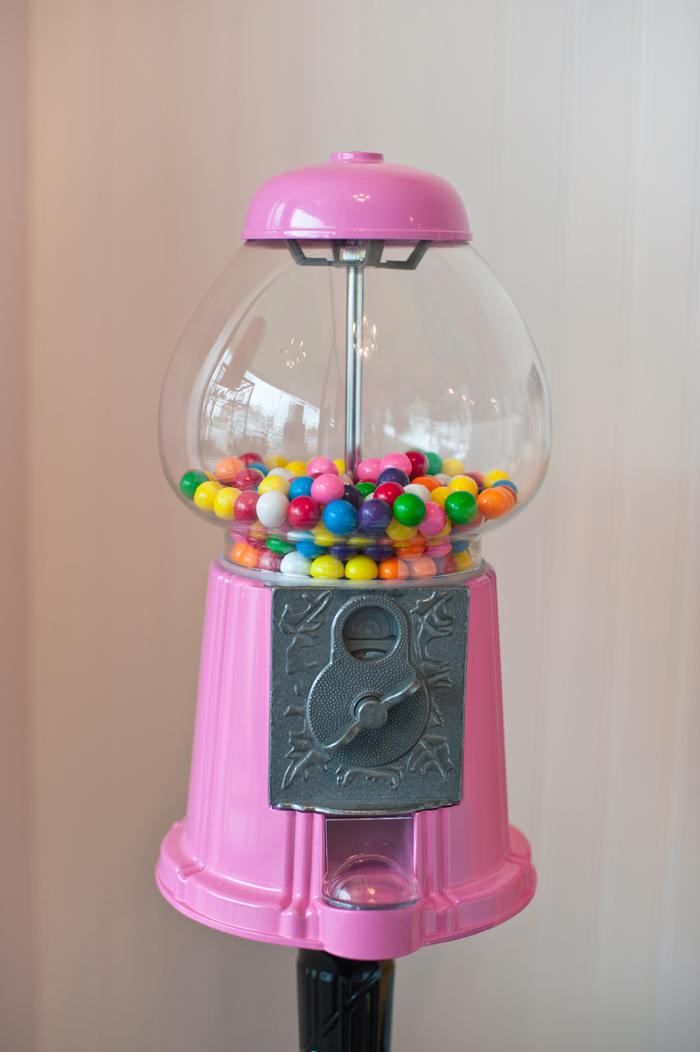 Pink Pinball Machine