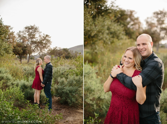 California Engagement Photo