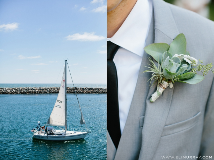 Coastal themed wedding ideas
