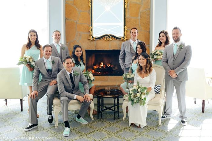 Wedding Party at Portofino Hotel