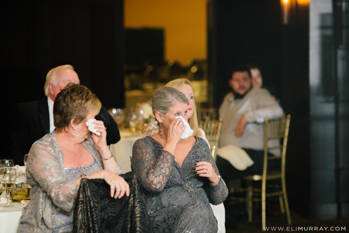 emotional mother of the groom