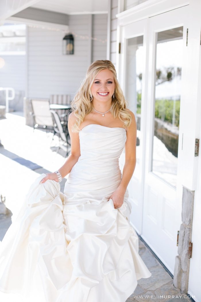 beautiful orange county bride