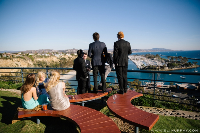 wedding guests in dana point, california