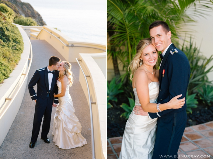 newlywed photos at the ritz-carlton laguna niguel