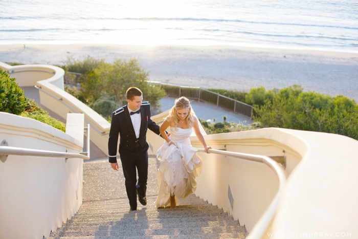 bride and groom laguna niguel