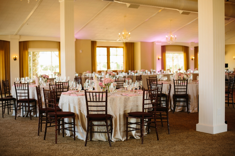 wedding reception at ponte winery