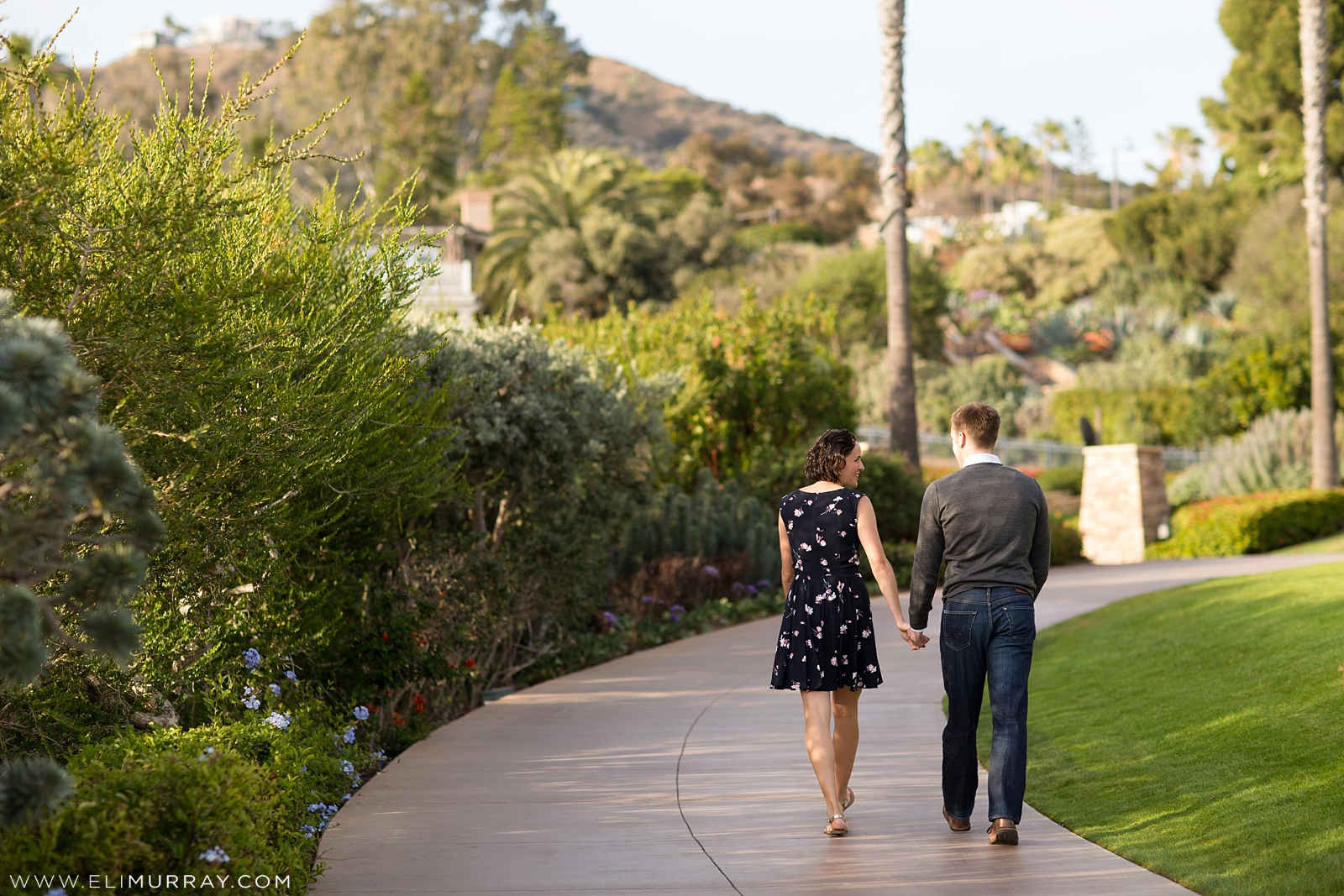 Engagement Portraits at The Montage Laguna Beach