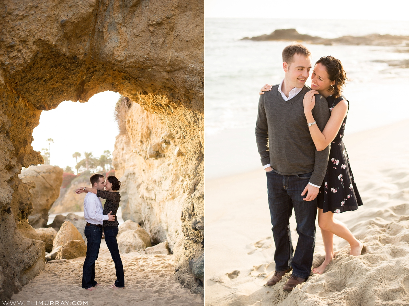 Laguna Beach Engagement Session by Eli Murray