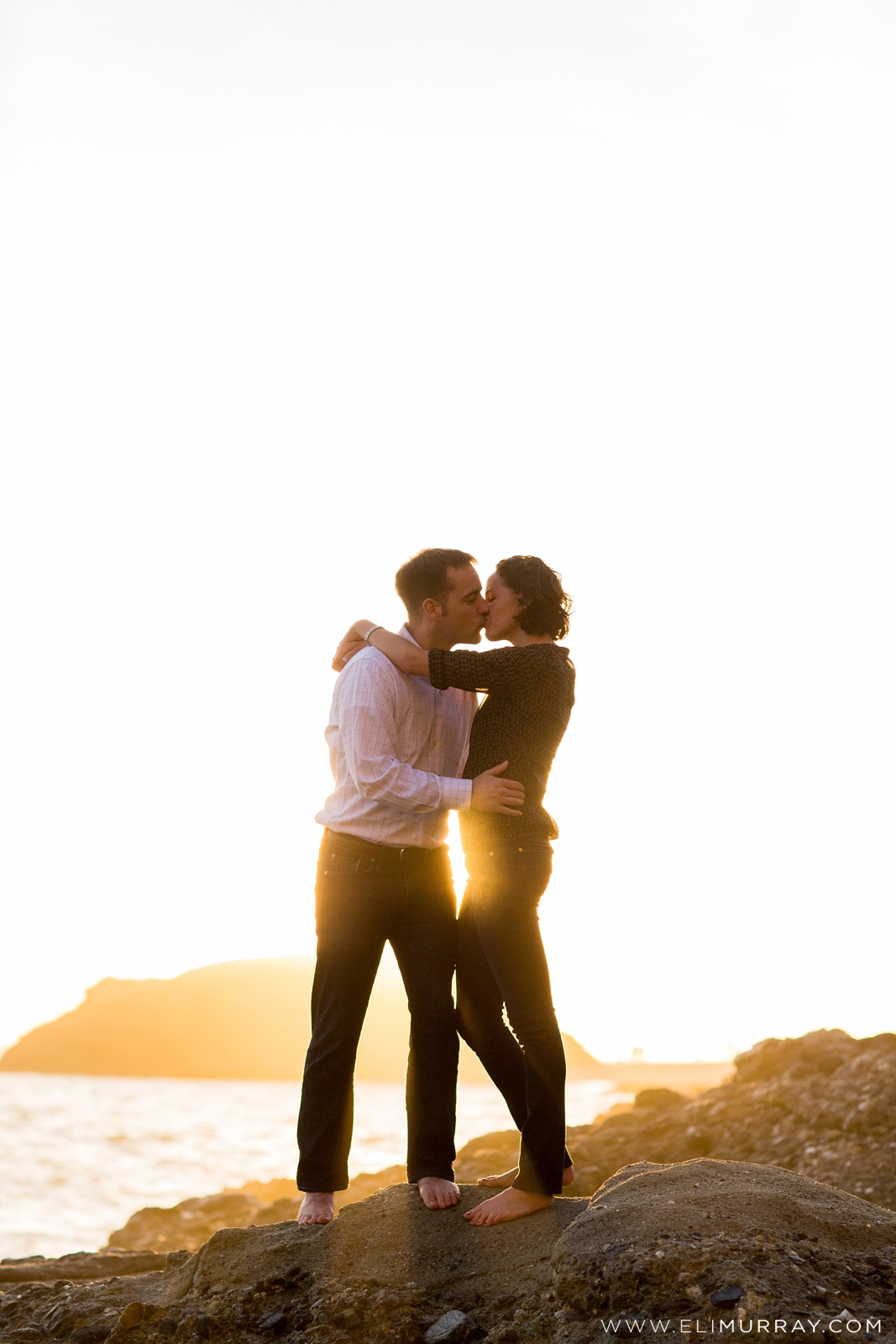 Sunset Engagement Photos at The Montage Laguna Beach