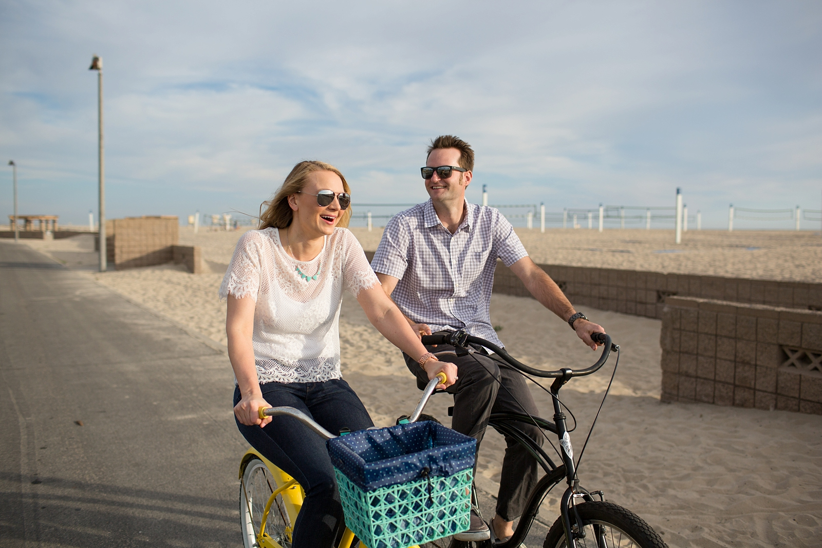 Beach Cruiser Engagement Session