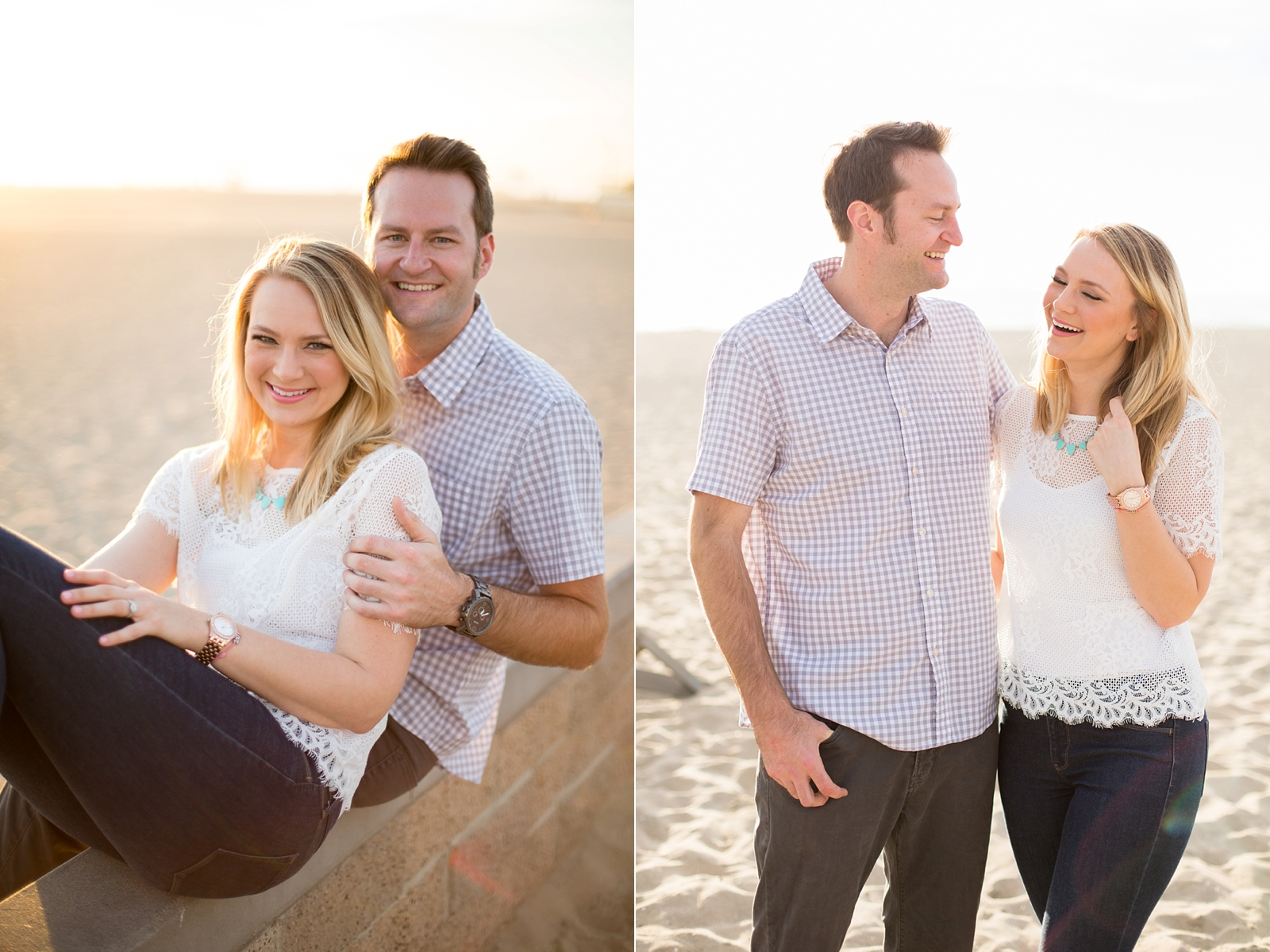 Orange Coast Engagement Session