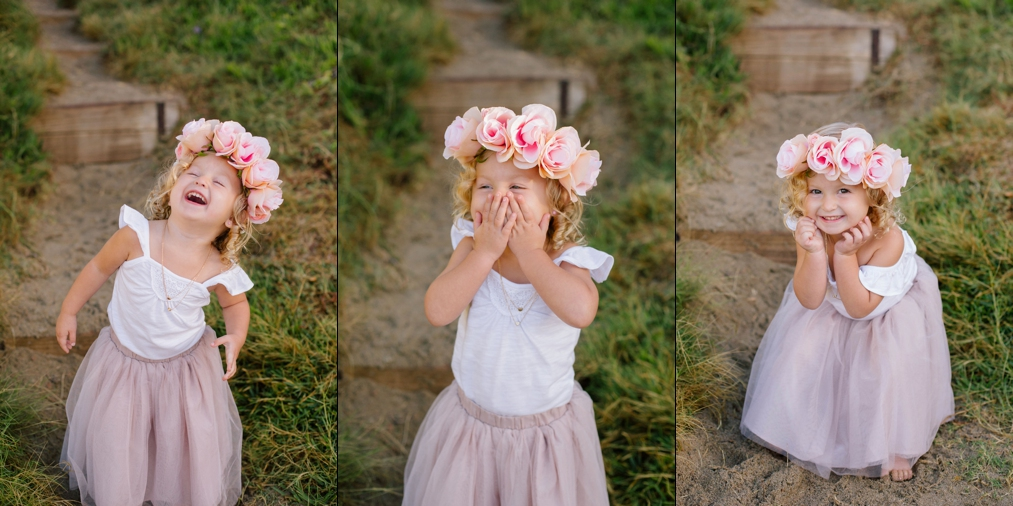 Floral Crown Little Girl